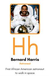 Bernard Harris Flash Card