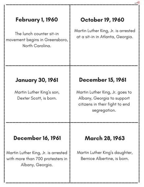 Martin Luther King, Jr. Events